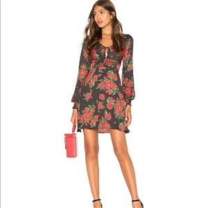 Free People Morning Light poppy and spot m…